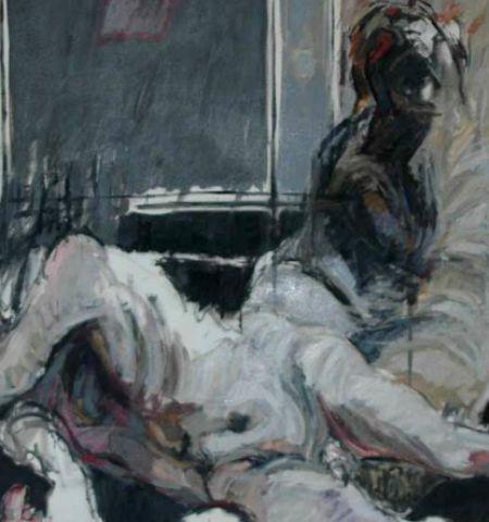 Painting – Lacrymosa for JFK