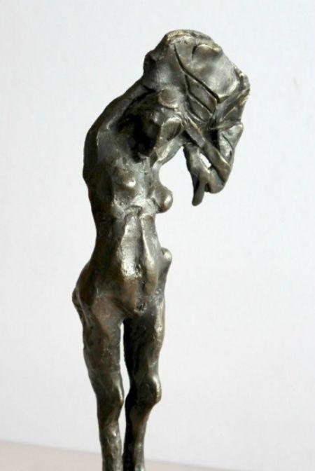 Standing-Lady-Sculpture Frank Rampolla Artist